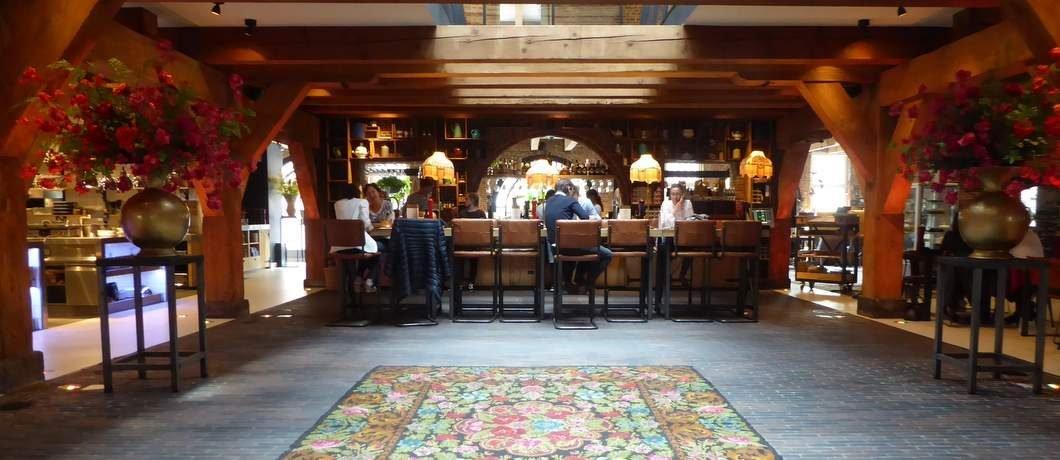Atrium restaurant Van Rossum