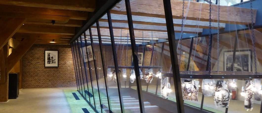 Glazen omloop van het Stadshotel Woerden