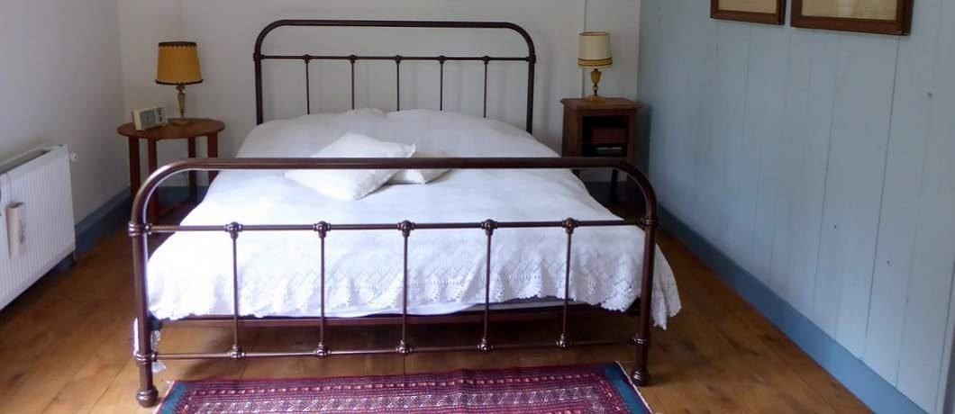 Slaapkamer De Witte Raaf in Oude Willem
