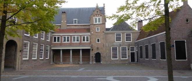 Binnenplaats van Het Hof van Holland