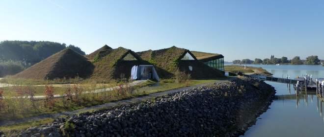 Duurzaam gebouwd museum Biesbosch Museumeiland