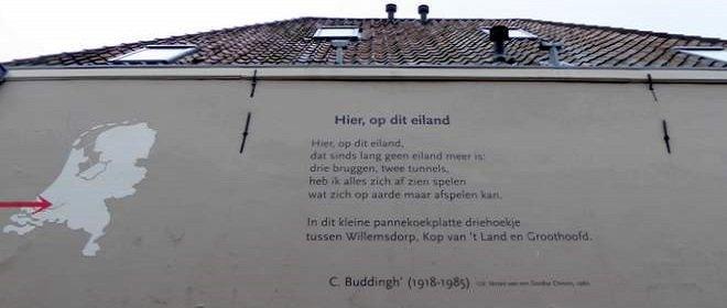 Gedicht van Dordtenaar Cees Buddingh'