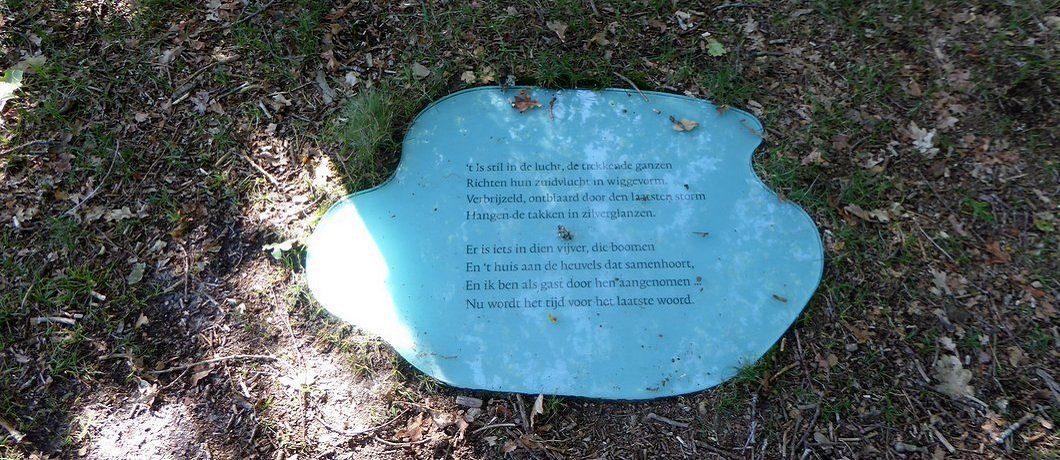 Gedicht bos geluidswandeling Vlieland Soundtrackcity