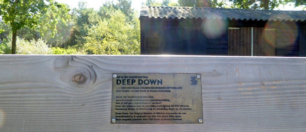 Start geluidswandeling Deep Down Vlieland