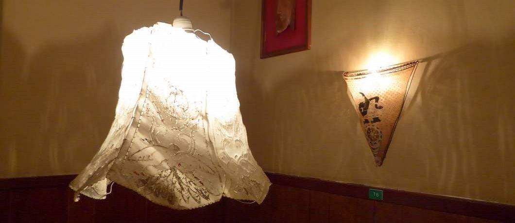 Lampen van restaurant Soeboer in Den Haag