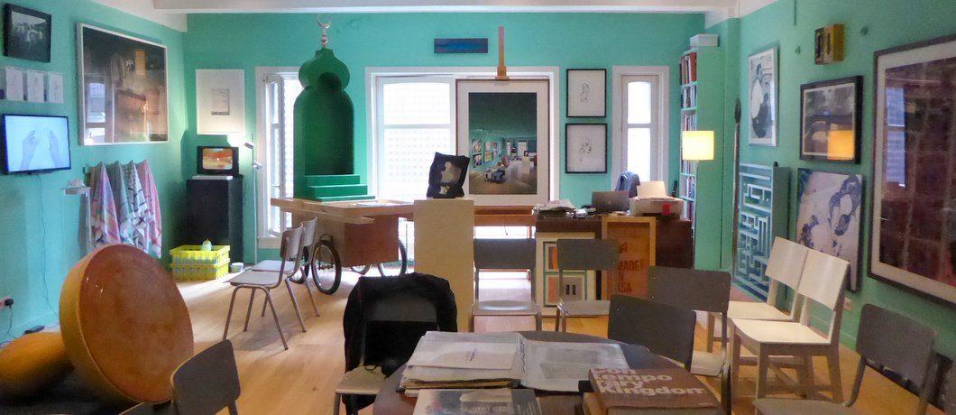 Greenbox Museum voor hedendaagse kunst uit Saoedi-Arabië in Amsterdam