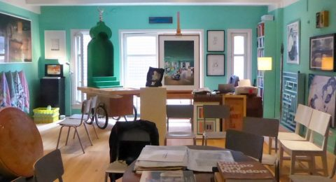 Het Greenbox Museum voor hedendaagse kunst uit Saoedi-Arabië in Amsterdam