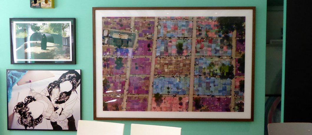 Kunst uit Saoedi-Arabië in het Greenbox Museum