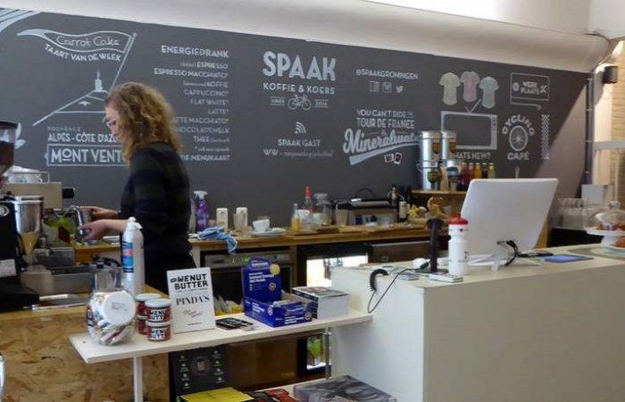 Spaak fietswinkel en koffiebar in Groningen centrum