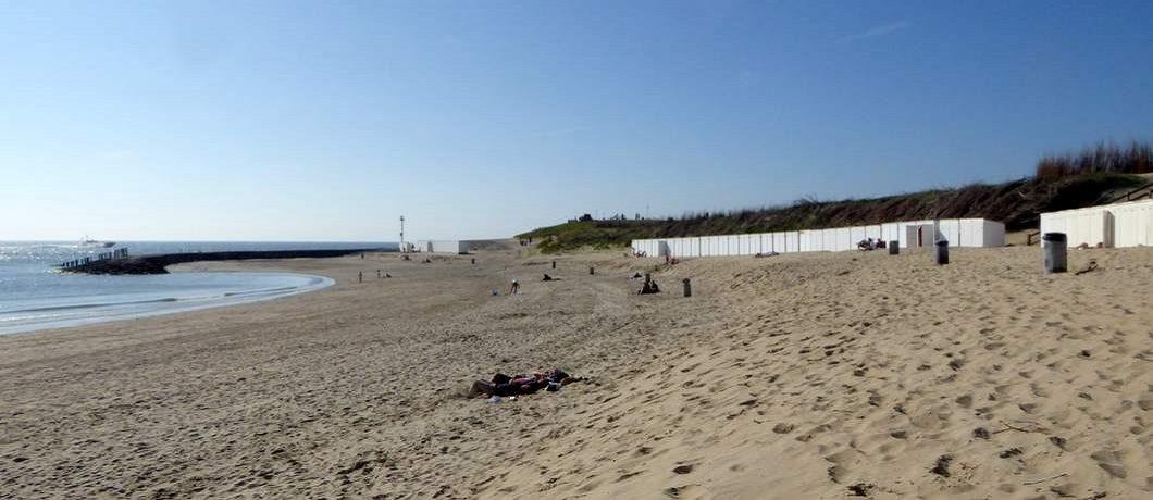 Strandhuisje strand Westkapelle van B&B Frankrijk-Noord