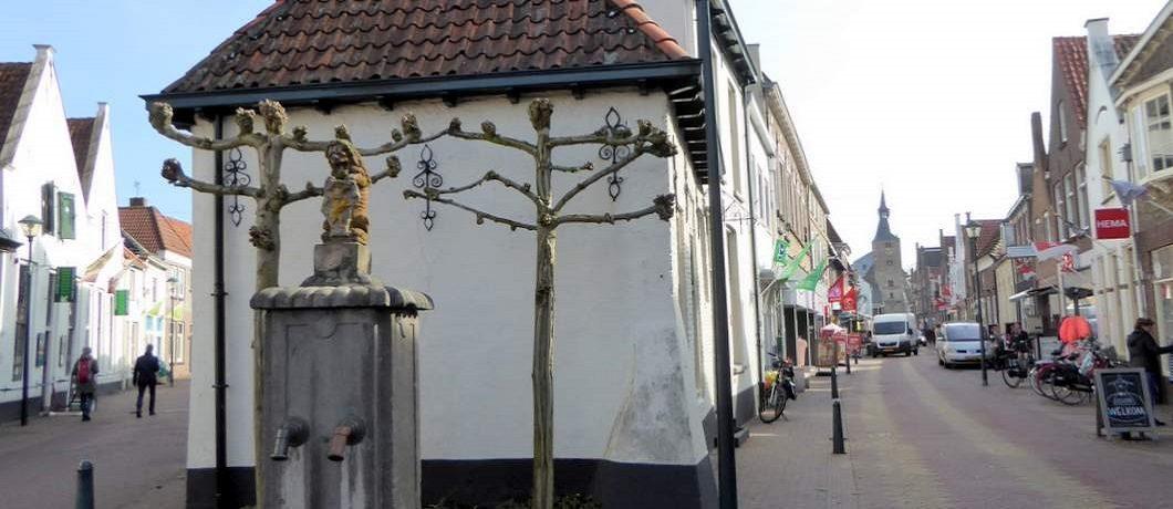 Centrum van Hanzestad Hattem