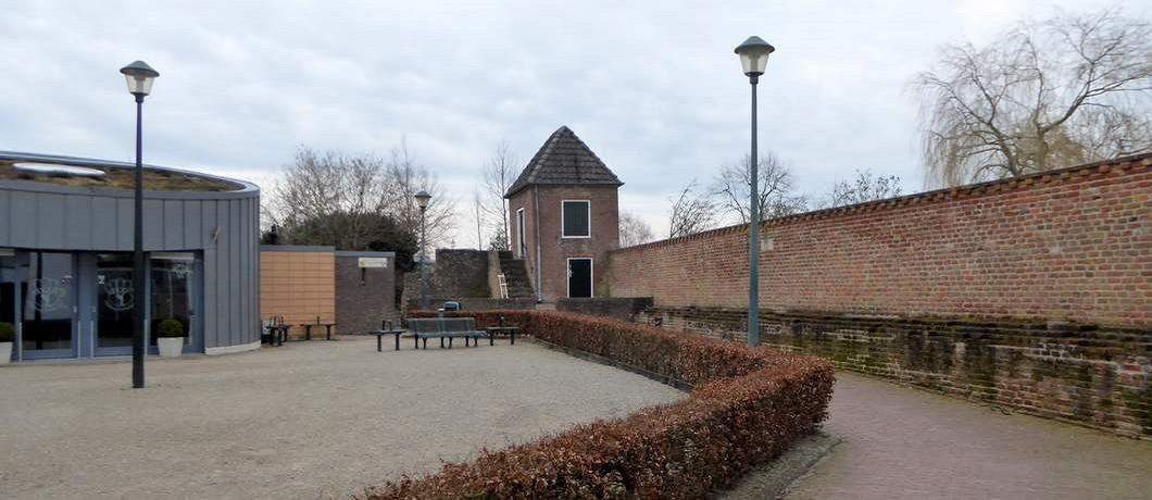 Stadsmuur wandelen rond Hattem