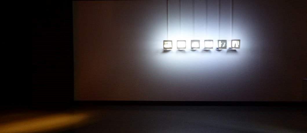 Kunstwerk van Amar Kanwar in de Prince Claus Fund Gallery