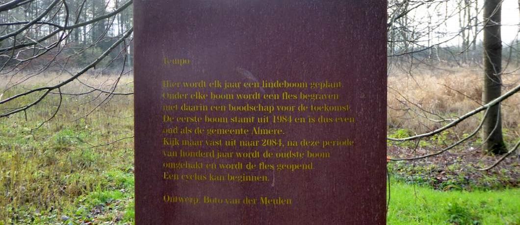 land-art-wandelen-museumbospad-almere-davides