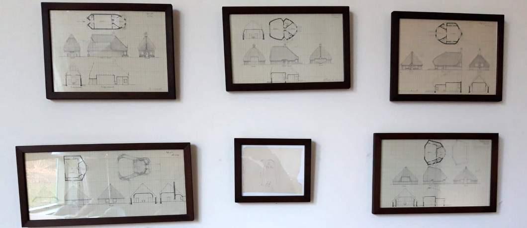 Bouwtekeningen Margaret Kropholler Atelier Roland Holst