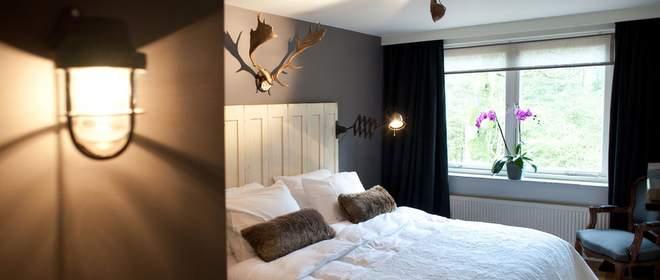 Nachtje weg in de jagershut van hotel Meneer van Eijck in de Oisterwijkse Bossen & Vennen
