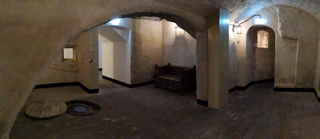 In de catacomben van kasteel Hackfort