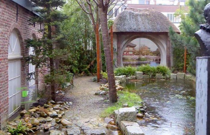 Koreaanse tuin van het Hendrick Hamel Museum in Gorinchem