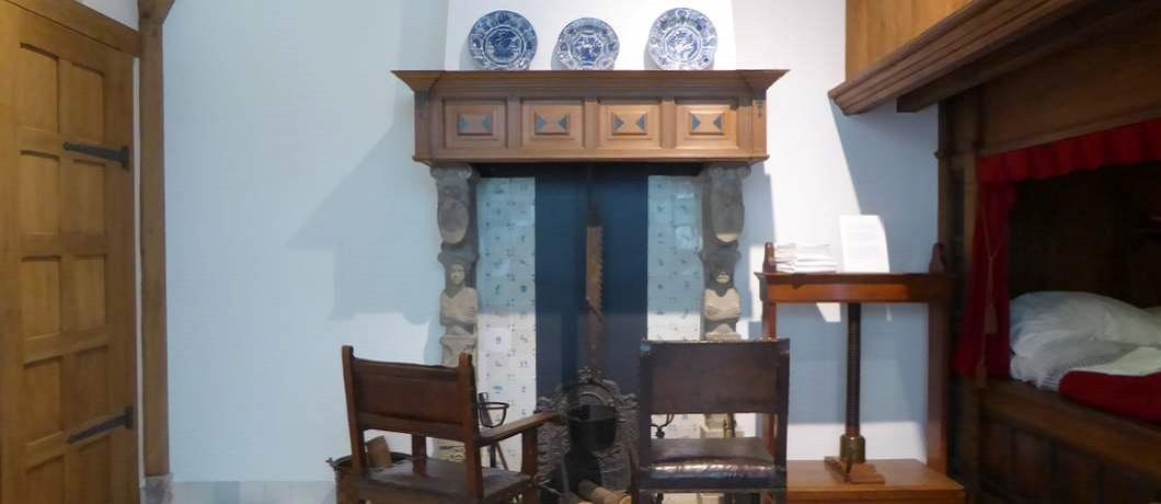 Pronkkamer van het Hendrick Hamel Museum