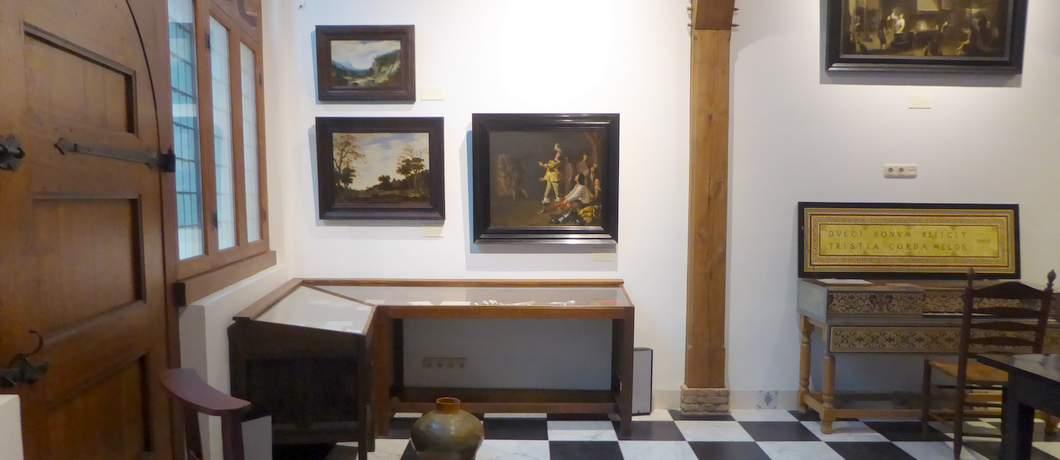 Stijlkamer in van het Hendrick Hamel Museum