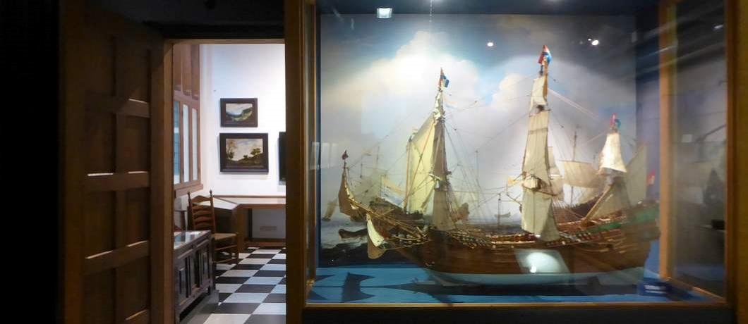 VOC-schip in het Hendrick Hamel Museum