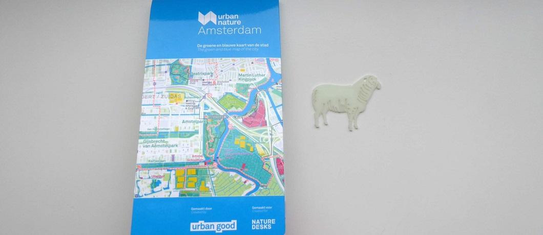 Plattegrond #UrbanNatureAmsterdam met een oppervlakte van 1 m2