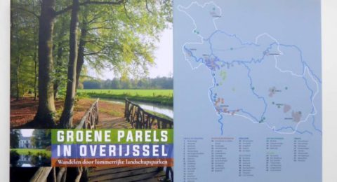 Cover boek Groene parels in Overijssel